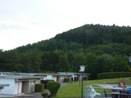 VVF Villages Saales: vue de la terrasse