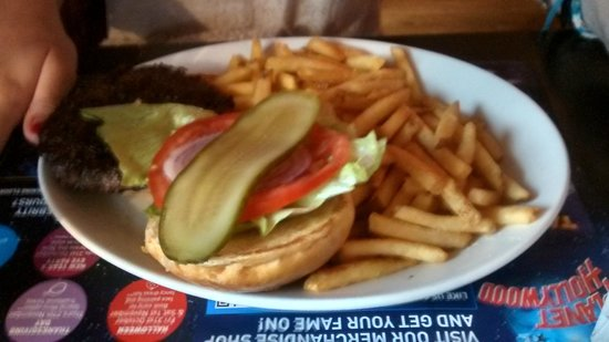 Planet Hollywood : Plain Burger