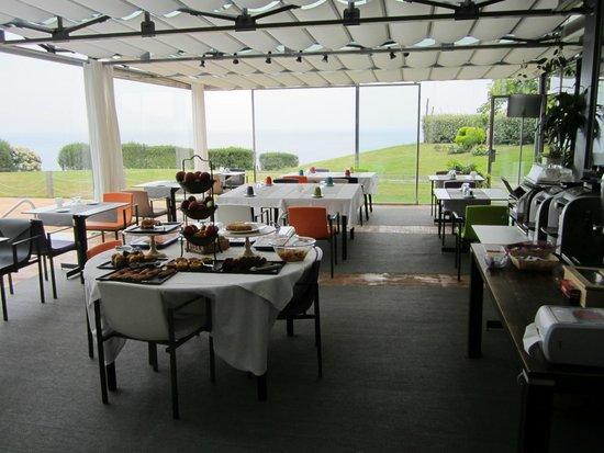 Hotel Arbe: Ontbijten met zicht op zee