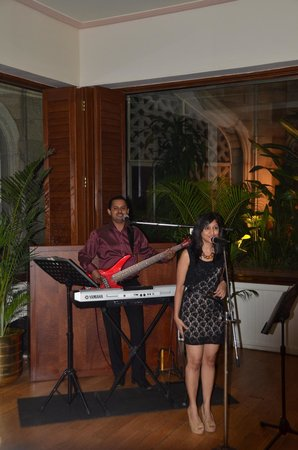 The Taj Mahal Palace : a starboard life music with the most wonderful and talented musicians reena and lindsay