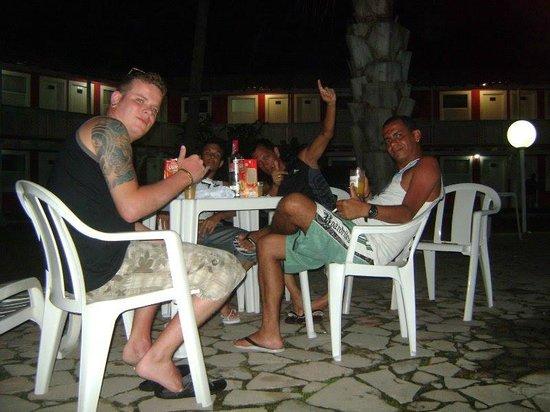 Beira Mar Praia Hotel: Aquecimento para a Noitada