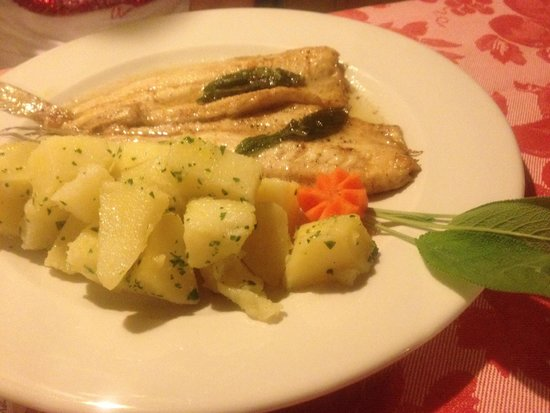 Trattoria Della Vigna: Lake Whitefish With Butter And Parsley Potatoes