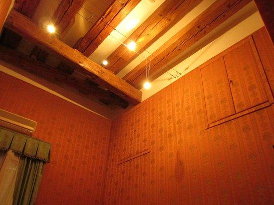 Centauro Hotel: 天井と梁