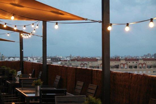 Expo Hotel Valencia: Terrazza