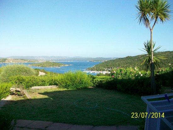 Residence Costa Serena: Veduta dalla sistemazione villette a schiera