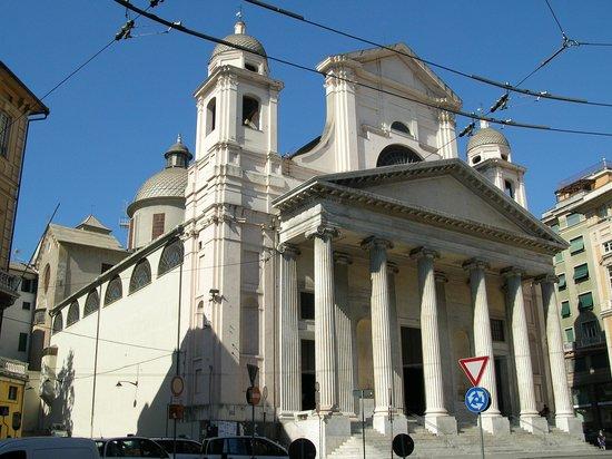 Basilica della Santissima Annunziata del Vastato: Вид снаружи