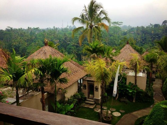 Puri Gangga Resort : view from our room