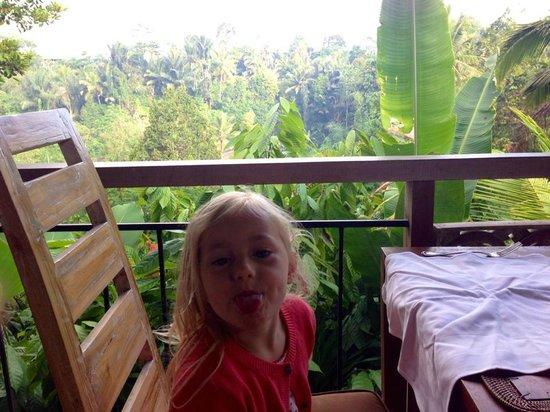 Puri Gangga Resort : Breakfast time