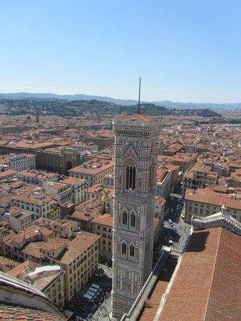 Cupola del Brunelleschi: Vista