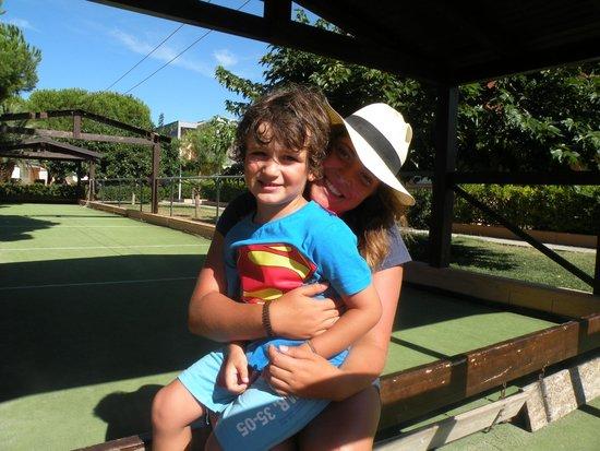 Blue Marine Village: Superman e Ileana