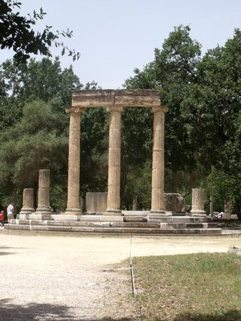 Ancient Olympia: Philippeion