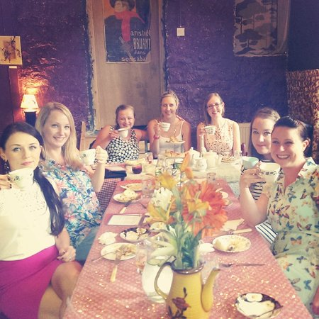 Cox and Baloney's Tearoom & Bar: Vintage Cox and Baloney Tea and Tarts Henparty