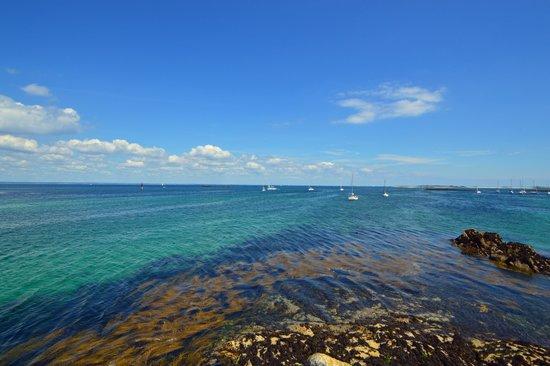 Glenan Islands : Eaux turquoises