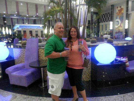 Hotel Riu Palace Peninsula: hotel lobby