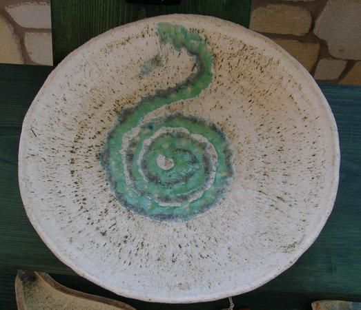 Bonsai and Art: Keramikschuessel - Einzelstueck