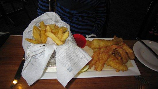 Amora Hotel Riverwalk Melbourne: Seafood platter
