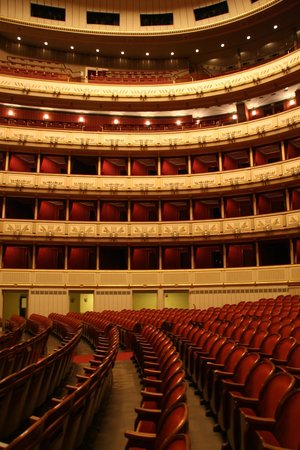 Opera of Vienna Guided Tour: Zuschauerraum