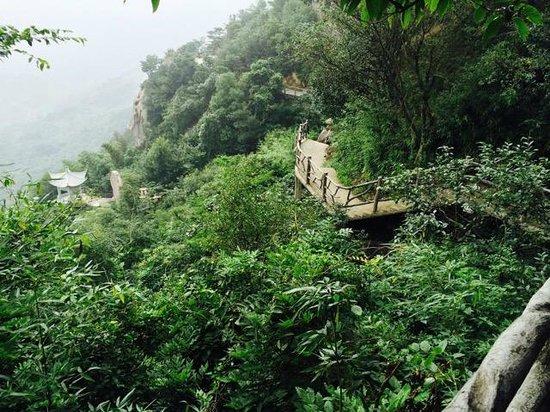 Simingshan National Forest Park: Geological Park area, Simingshan National Forest