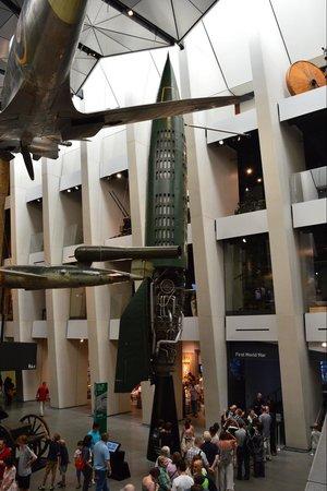 Museo Imperial de la Guerra: Thunderbirds are go!