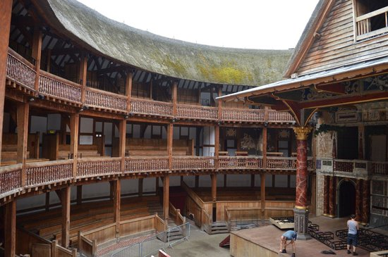 Shakespeare's Globe Theatre : Stage right