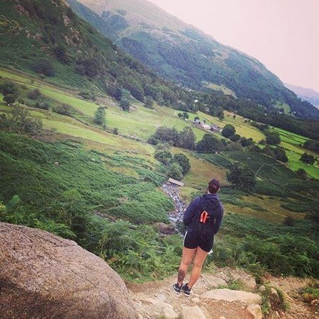 Easedale Tarn: Admiring the view