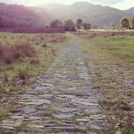 Easedale Tarn: Just follow the yellow brick road! Pushchairs and Wheelchairs might find the path a bit too bump