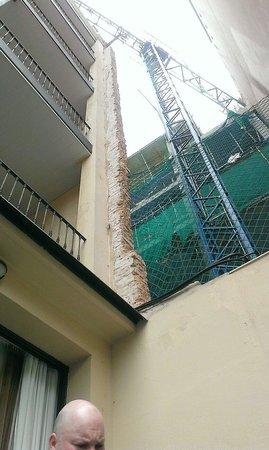 Hotel Constanza Barcelona: Our balcony