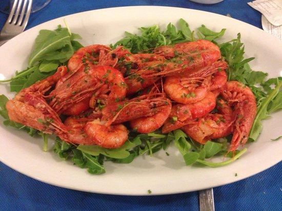 Ristorante Scialapopolo All'Onda D'Oro: Salt and pepper shrimp. The best I have ever eaten.