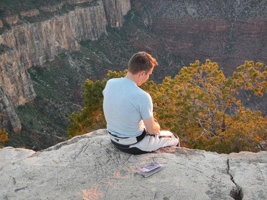 Grand Adventures Tours: Meditating