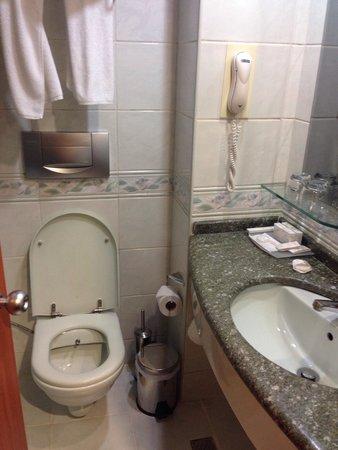 Hotel Bulvar Palas: Bagno