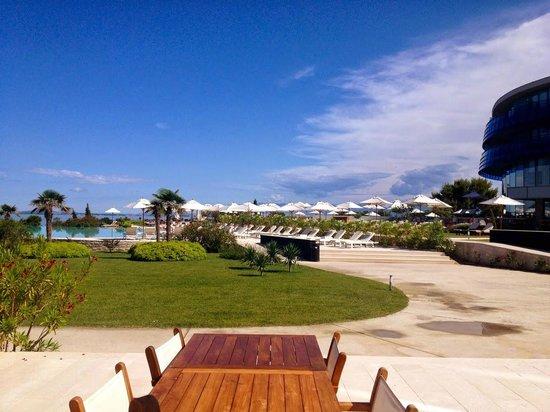 Falkensteiner Hotel & Spa Iadera: Hotel Garden & Pool