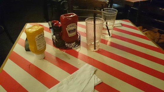 TGI Friday's : Tables