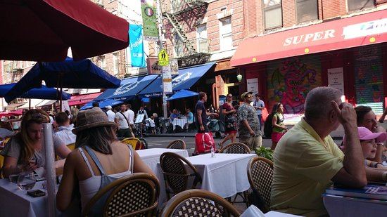 Sofia's of Little Italy: get a seat at outside, not bad