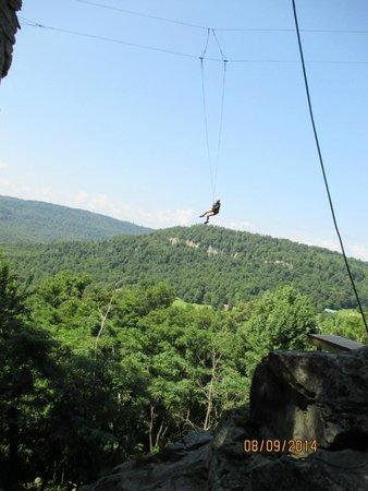 Horseshoe Canyon Ranch: the swing