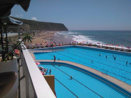 Arribas Sintra Hotel: vista para praia grande