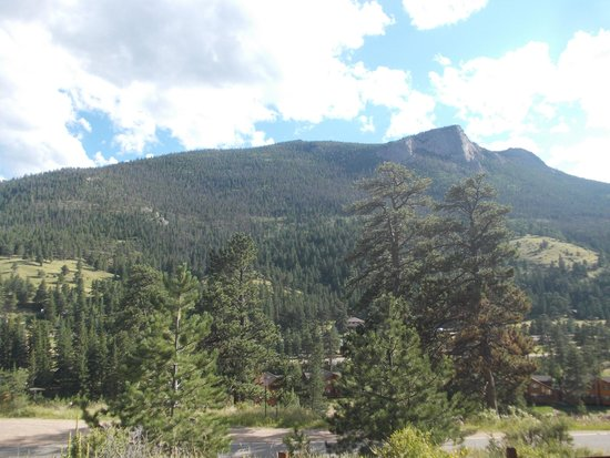 McGregor Mountain Lodge: View from our cabin