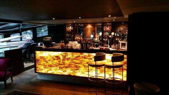 The Bristol: Bar area