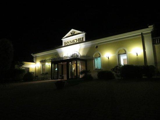 Palace Hotel San Michele : facciata principale dell'hotel