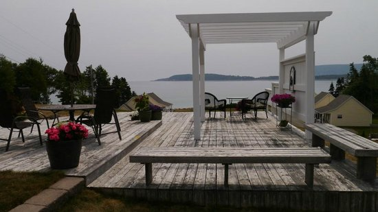Lantern Hill & Hollow : the patio