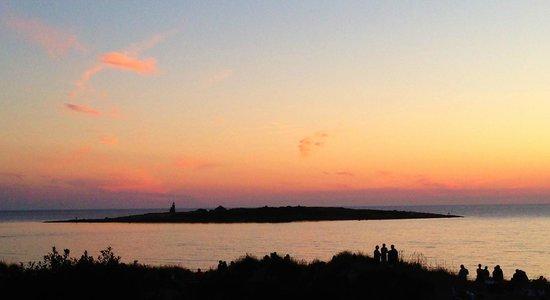 Tylosand Strand: Sunset in Tylösand
