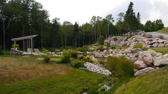 Lantern Hill & Hollow : the rock garden