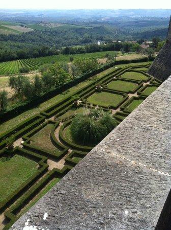 """Castello di Brolio: I """"giardini"""""""