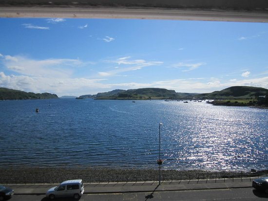 Barriemore Guest House: view from the room