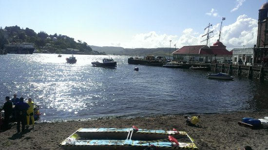 Glenrigh Guest House: oban harbour 5 mins walk away