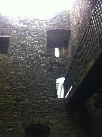 Lydford Castle & Saxon Town: Prison interior