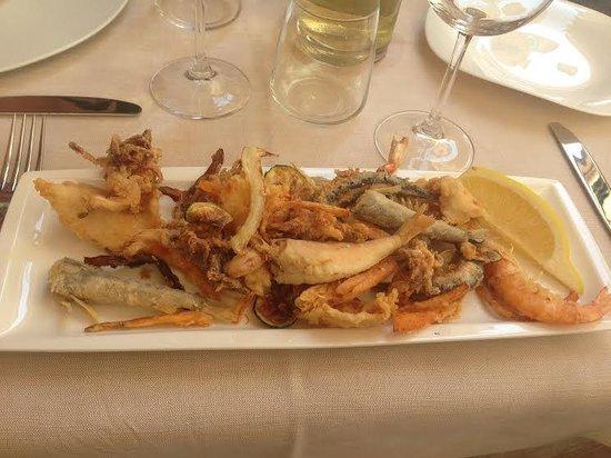 Ristorante Bonta Nascoste: Mixe de fruits de mer