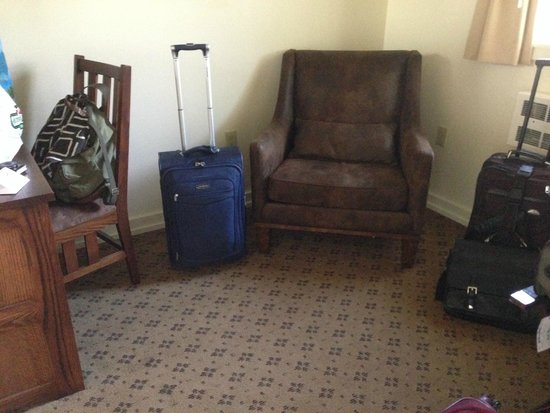 Many Glacier Hotel : Sitting area