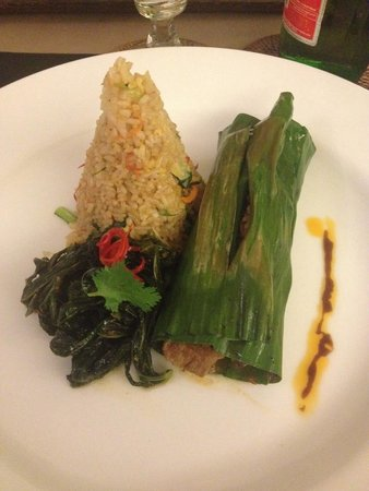 Plataran Ubud Hotel & Spa: Beef and rice