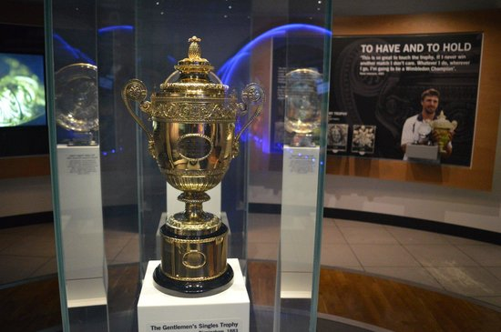 Wimbledon Lawn Tennis Museum: The trophy
