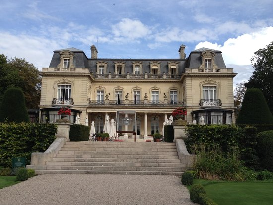 Chateau Les Crayeres: From the Garden